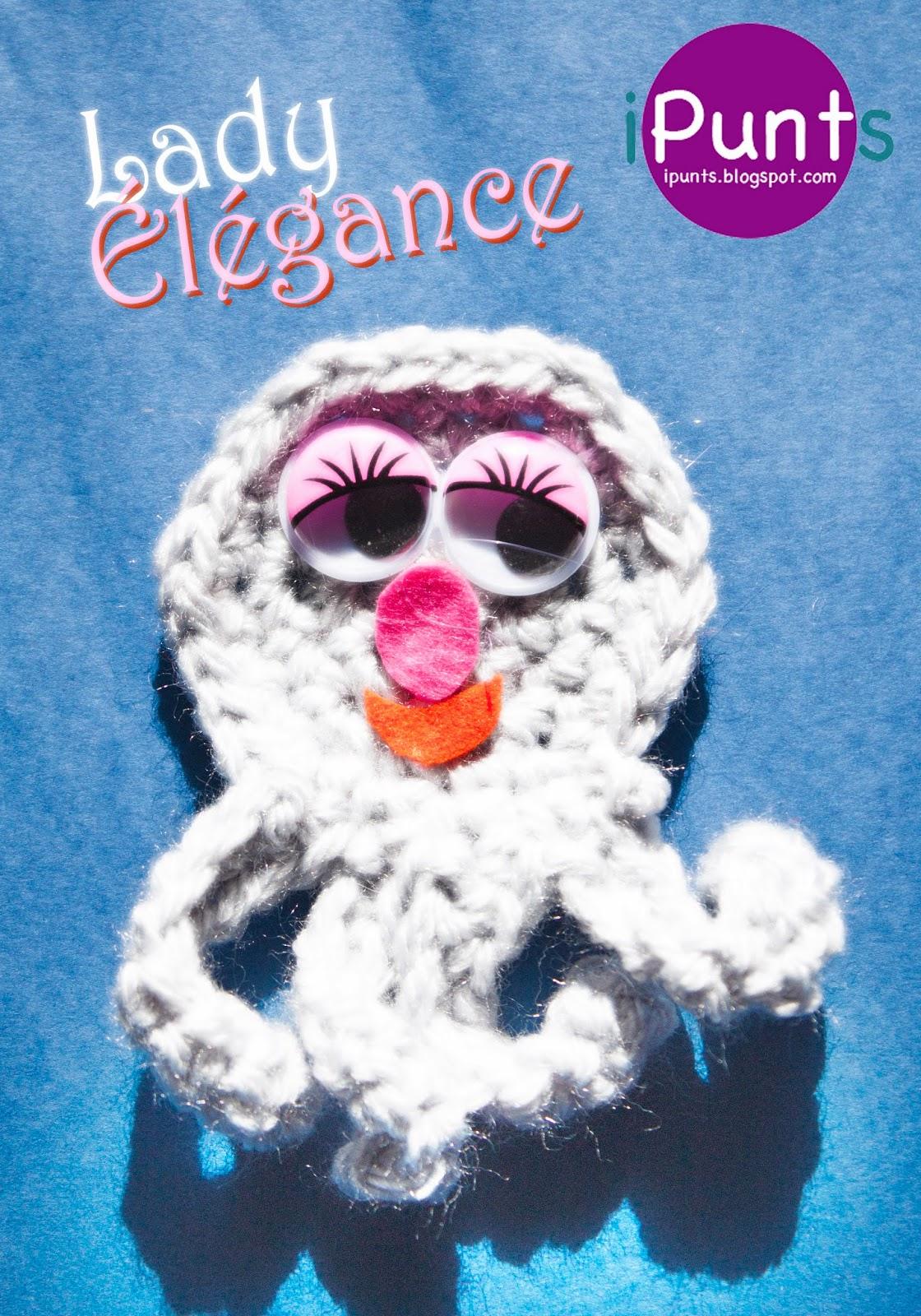 elegance pulpo crochet patrón gratis ipunts