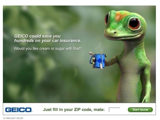 Image of GEICO Gecko