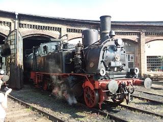 Museum + Bahnverkehr: Dampfloktreffen im Bahnbetriebswerk Schöneweide
