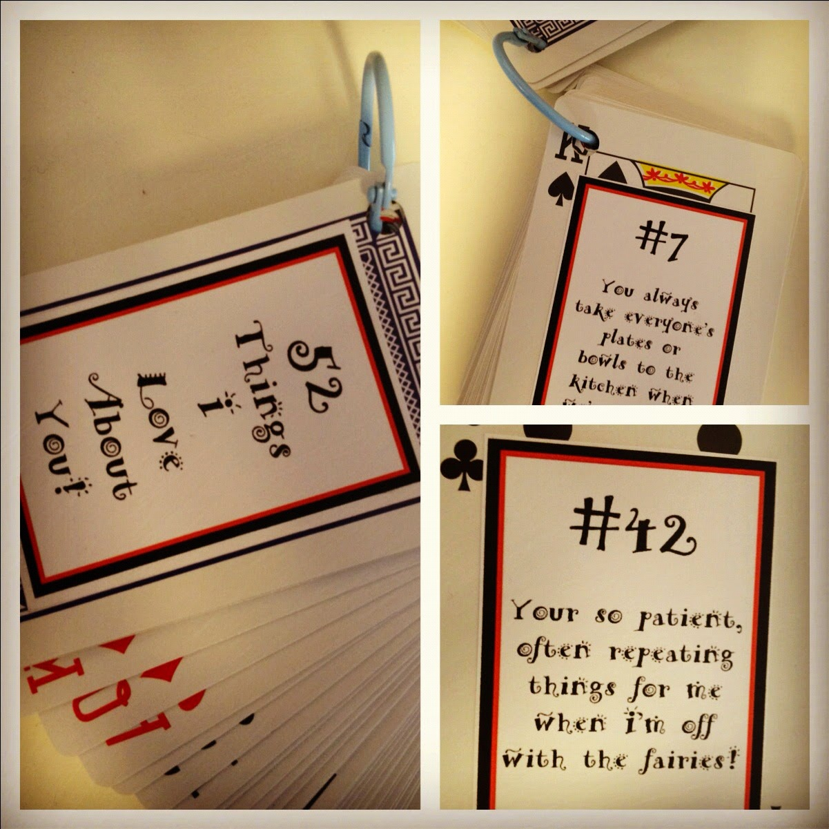 Simply Short n Sweet: 21 Things I Love About You With Regard To 52 Things I Love About You Deck Of Cards Template
