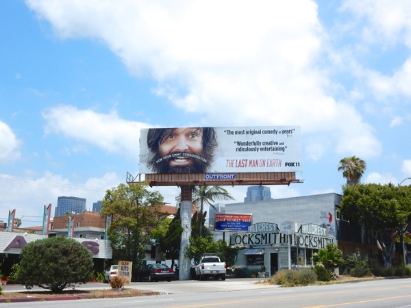 Last Man on Earth Emmy billboard