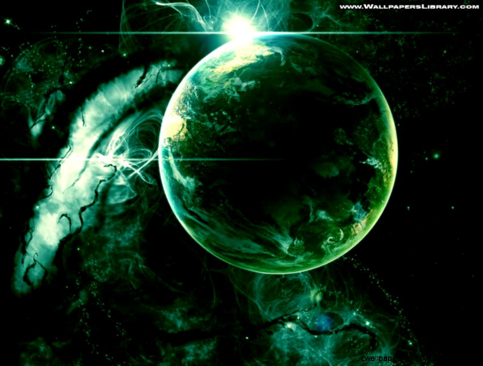 Green Planet Wallpaper   WallpaperSafari