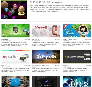Top 10 Android Applications In 2012