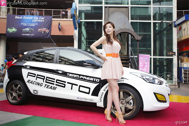 4 Jo Sang Hi at Hyundai Best Dress-up Car Contest 2012-very cute asian girl-girlcute4u.blogspot.com