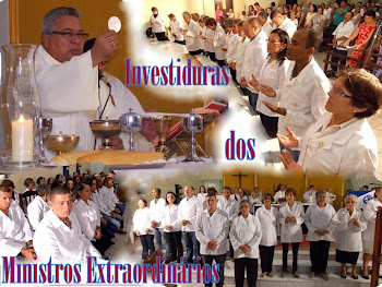 Fotos da Missa de Investidura dos Ministros Extraordinário da Eucaristia