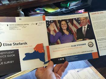 Stefanik Questionnaire Hits Mailboxes