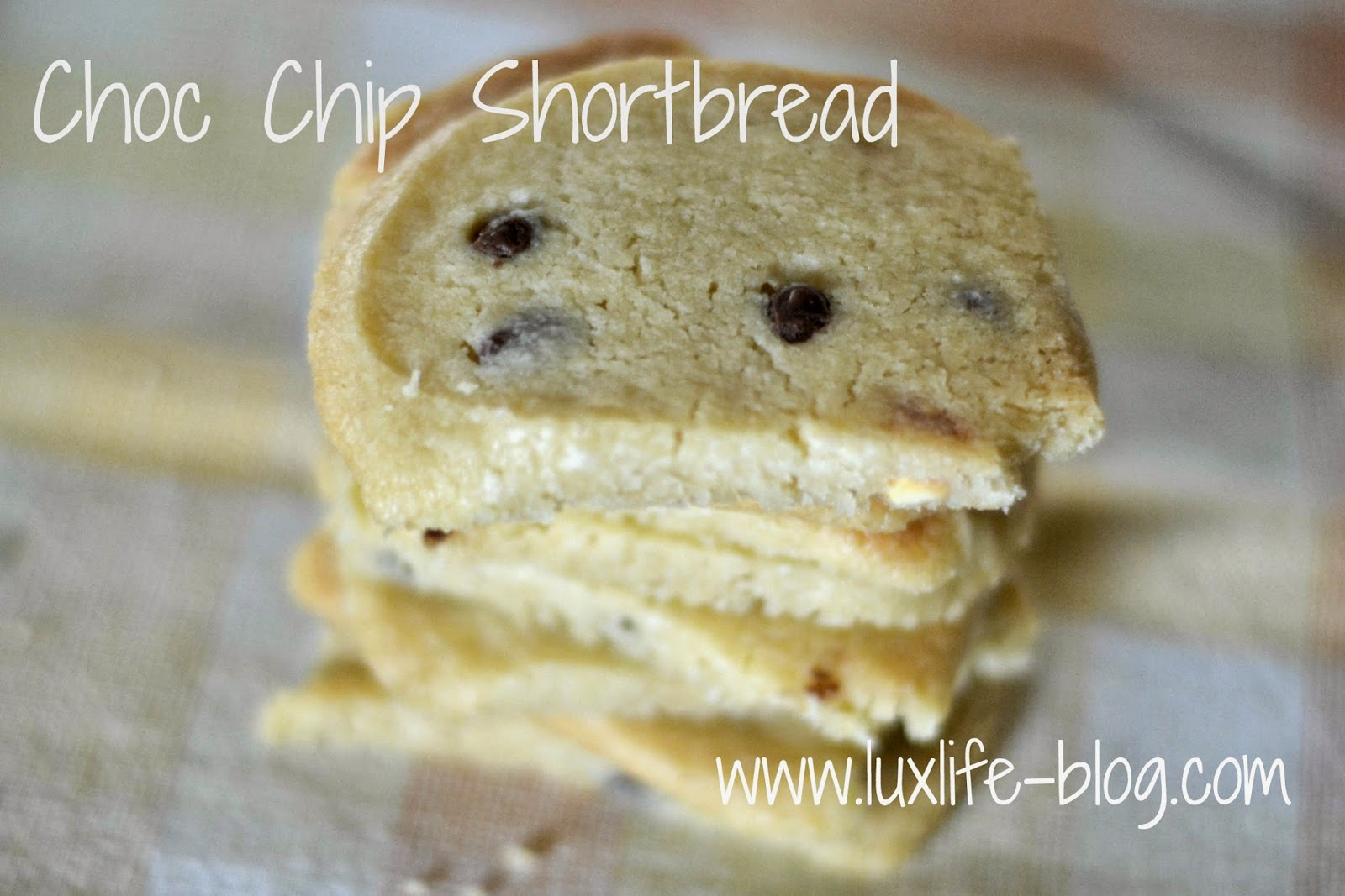Chocolate Chip Shortbread Recipe