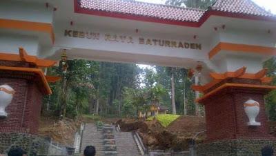 Wisata Kebun Raya Baturaden.