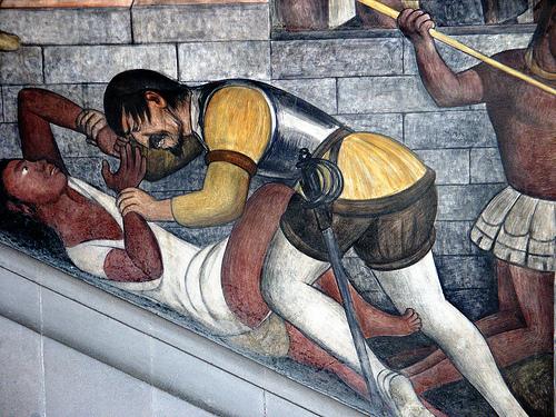 Filosof a arte letras y psicolog a falp biblioteca for Diego rivera la conquista mural