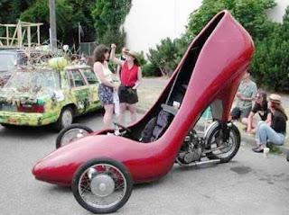 Carro Sapato - O preferido das Mulheres