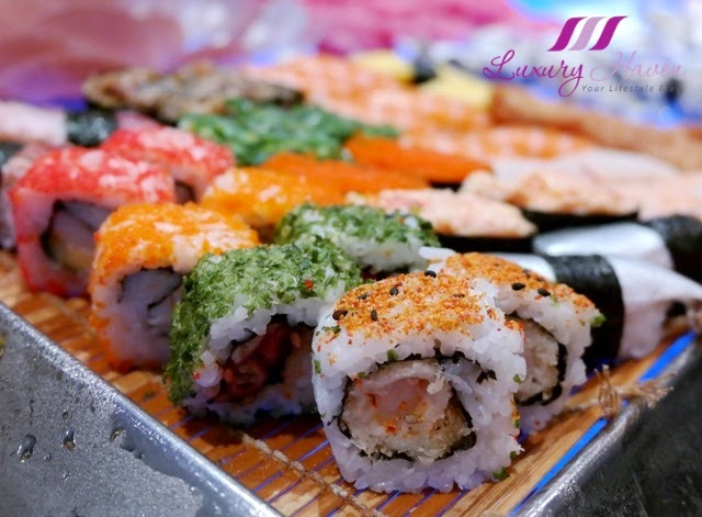 concorde hotel spices cafe dinner buffet sushi review