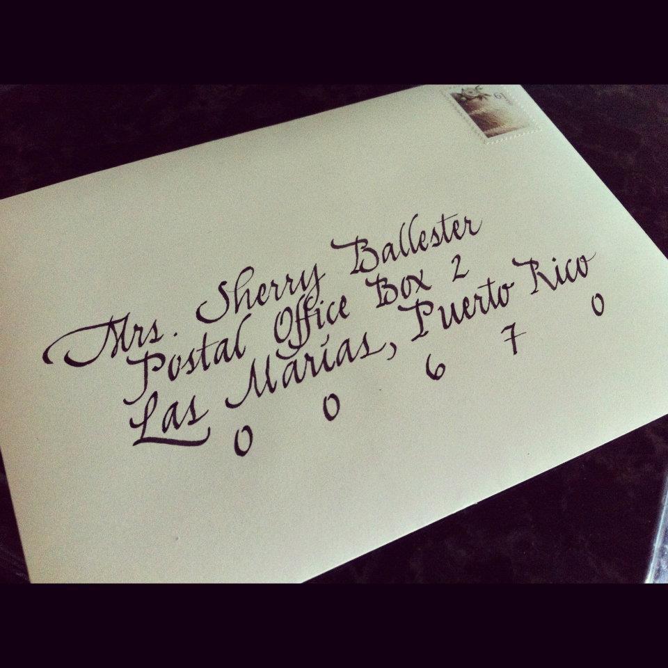 Calligraphy by johanna vs cursive