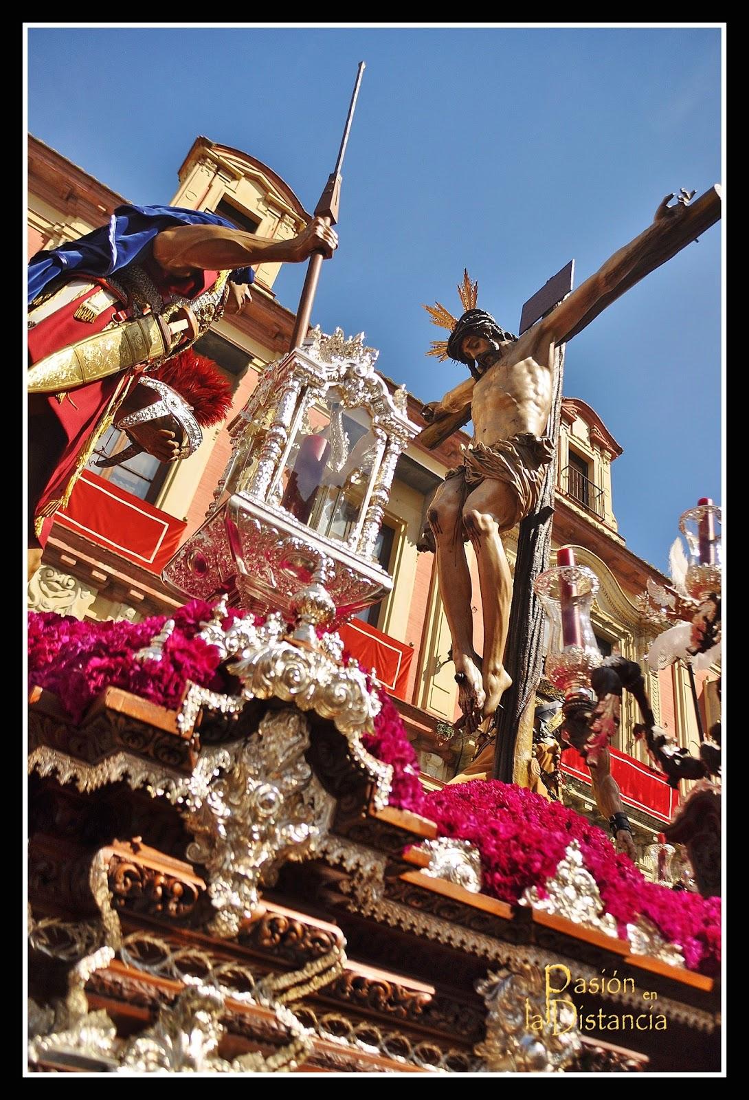 Misterio del Cristo del Desamparo y Abandono hacia Alemanes Sevilla 2015