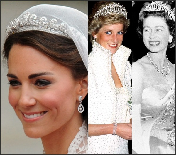 Royal wedding How Princess Diana suffered WARDROBE