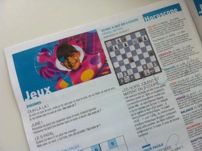 Le journal des plages avec Chess & Strategy