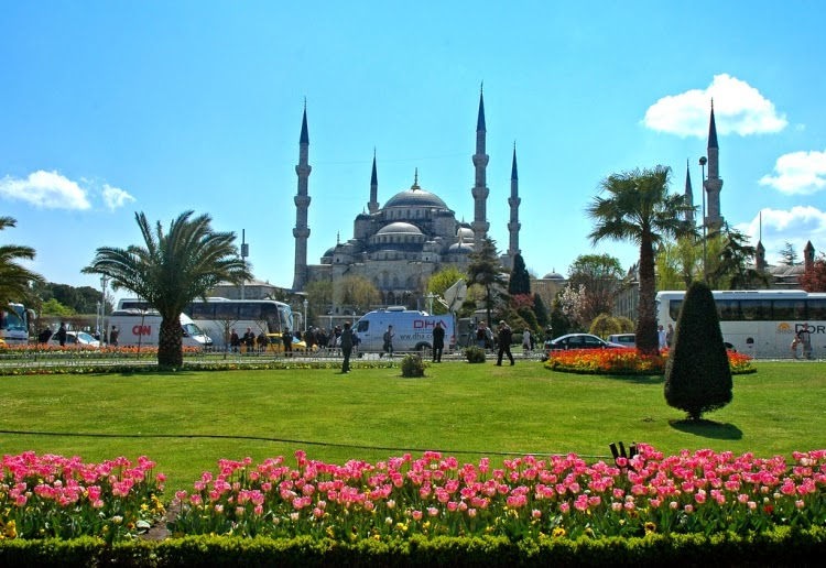 Beautiful and Gorgeous Blue Mosque Turkey