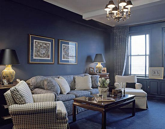 Living room design blue living room colors ideas for Blue living room decor ideas