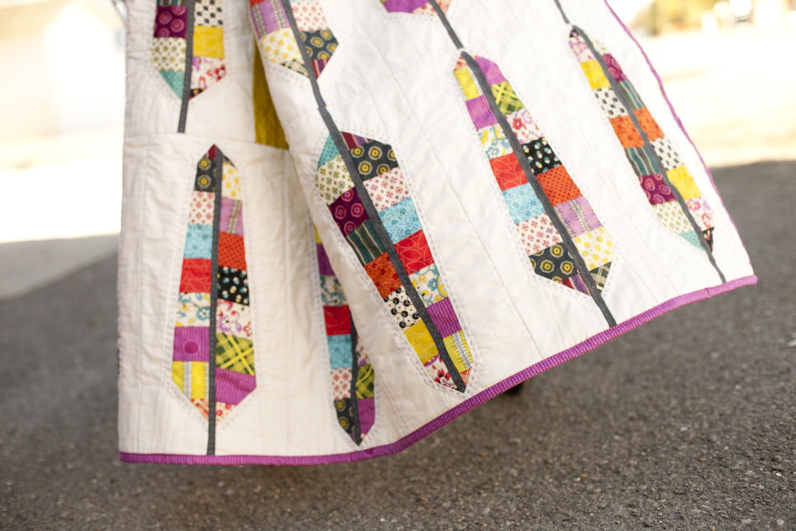 The Quilt Barn Chicopee Feather Bed Quilt