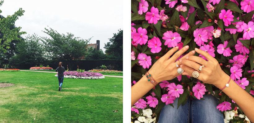 The Flower Garden in Greenwich Park!