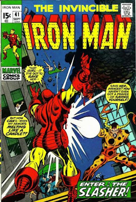 Iron Man #41, the Slasher