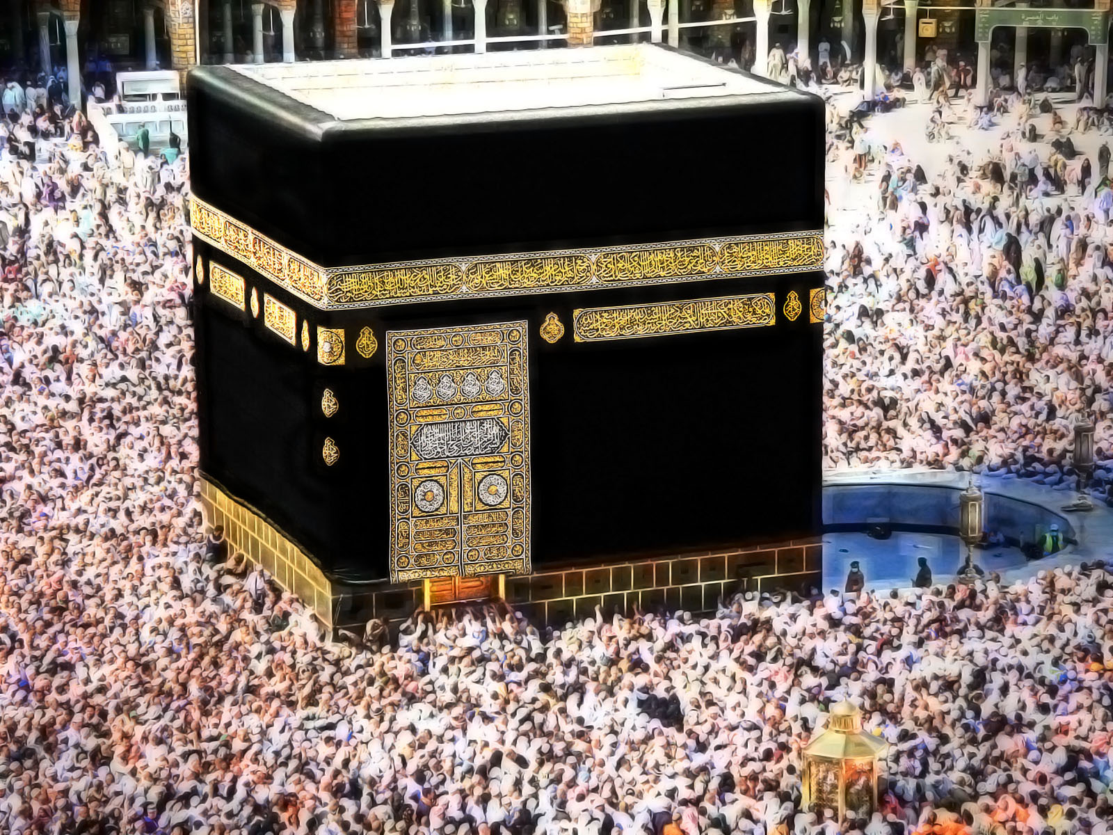 islamic thems kaaba the holy place