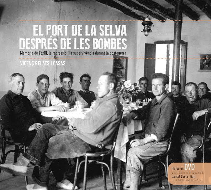 Presentació  del llibre 'El Port de la Selva després de les bombes' a El Port de la Selva