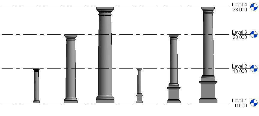 Tuscan Columns House Plans