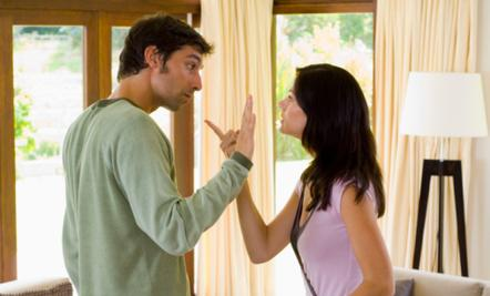 7 Ways to Work Out Negative Emotions with Your Mate - man woman argue argument fight couples