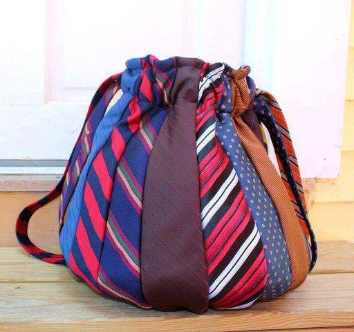 arte del riciclo creativo: Basta Cravatte ....