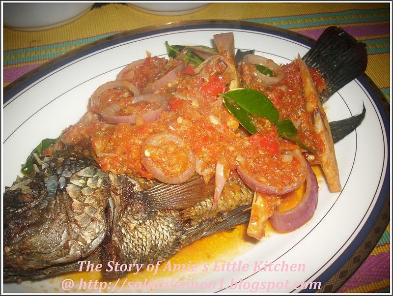 Resepi  Masak  Ikan  Keli  Berlada