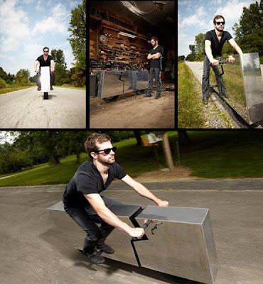 YANG Paling ANEH...!!!: Sepeda Motor TerUNIK di Dunia