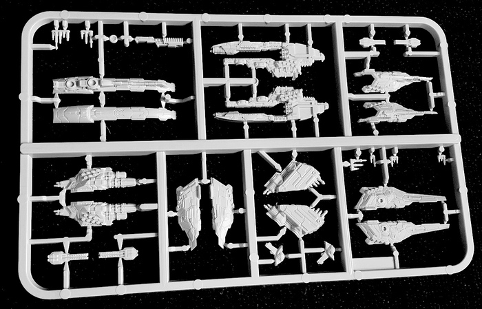 Dropfleet Commander UCM Sprue Pics...... and Dropzone Reconquest Phase 2 Coming!