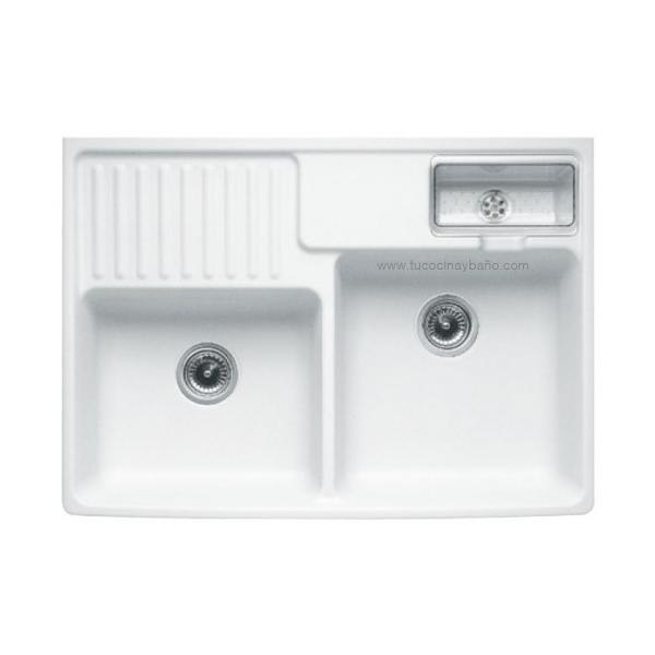 fregadero ceramico tradicion 2 tu cocina y ba o. Black Bedroom Furniture Sets. Home Design Ideas