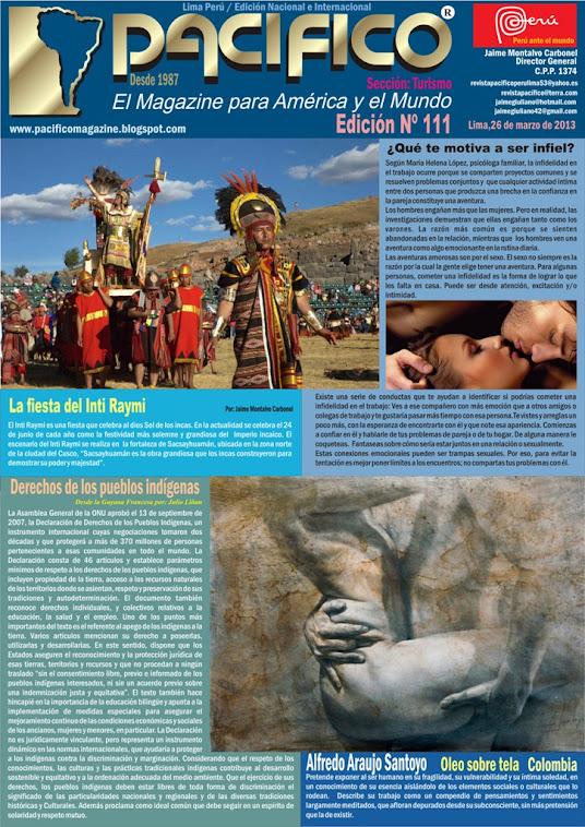 Revista PacíficoNº111 Turismo