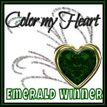 Color My Heart Emerald Winner