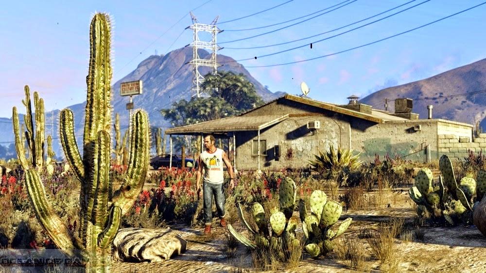 Grand Theft Auto V PC Download Kickass