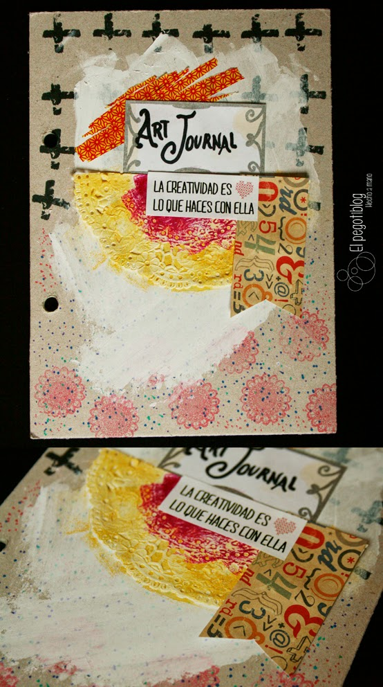 Mixed media - scrapbooking - El Pegotiblog