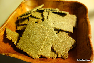 Pepita Sesame Crackers