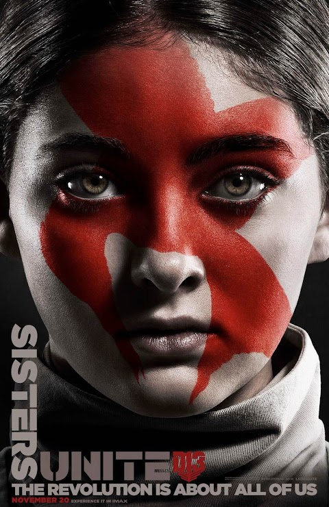 """8 sorprendentes pósteres de Sinsajo parte 2, con Katniss, Peeta, Gale  """"La revolución ha comenzado"""""""