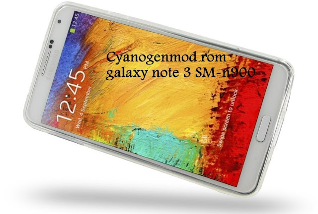 cyanogenmod custom rom on galaxy note 3 SM-N900 Ha3g