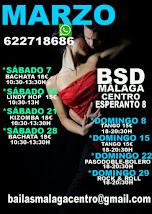 MARZO BAILA EN TU PIEL!! CURSOS DE BAILE EN BSD MÁLAGA CENTRO.