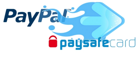 Paysafecard to paypal