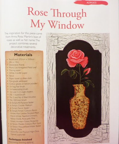 'Rose through my Window'