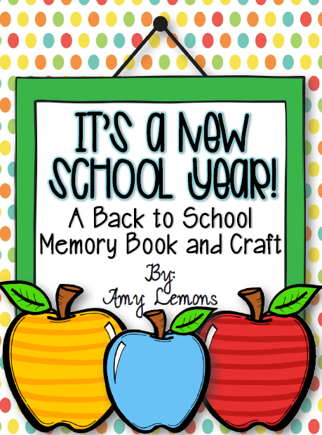 http://www.teacherspayteachers.com/Product/Its-a-New-School-Year-Back-to-School-Memory-Book-and-Craft-769758