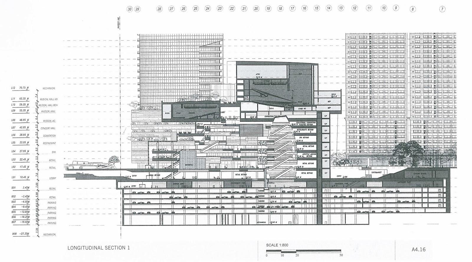 Sectional elevation zhang c zhou x huang l 2012 shopping mall gou wu zhong xin dalian university press dalian china page 34