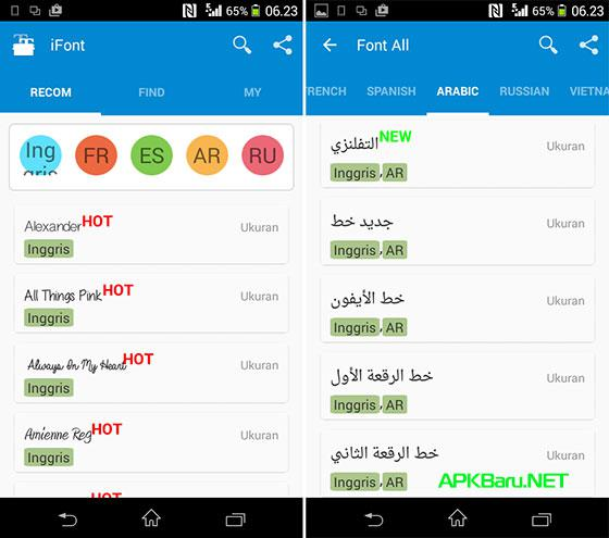 ifont donate apk terbaru