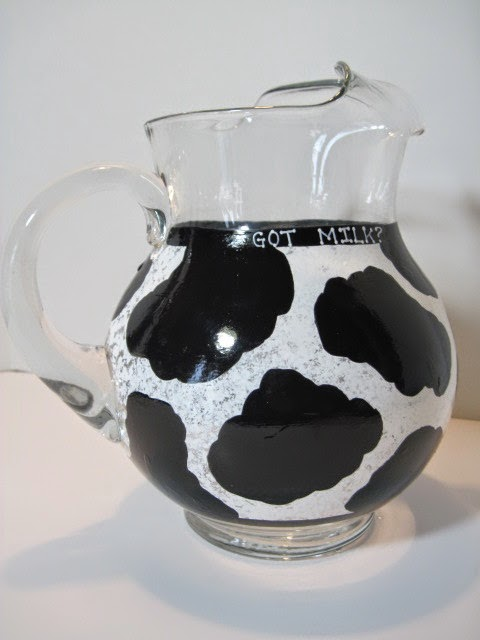 Got Milk Cow Pitcher - www.kudoskitchenbyrenee.com