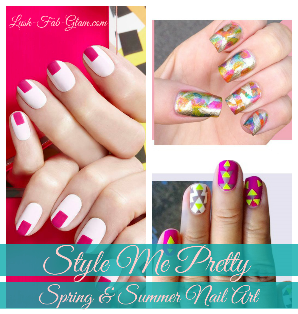 Pretty Nail Art For Spring & Summer.