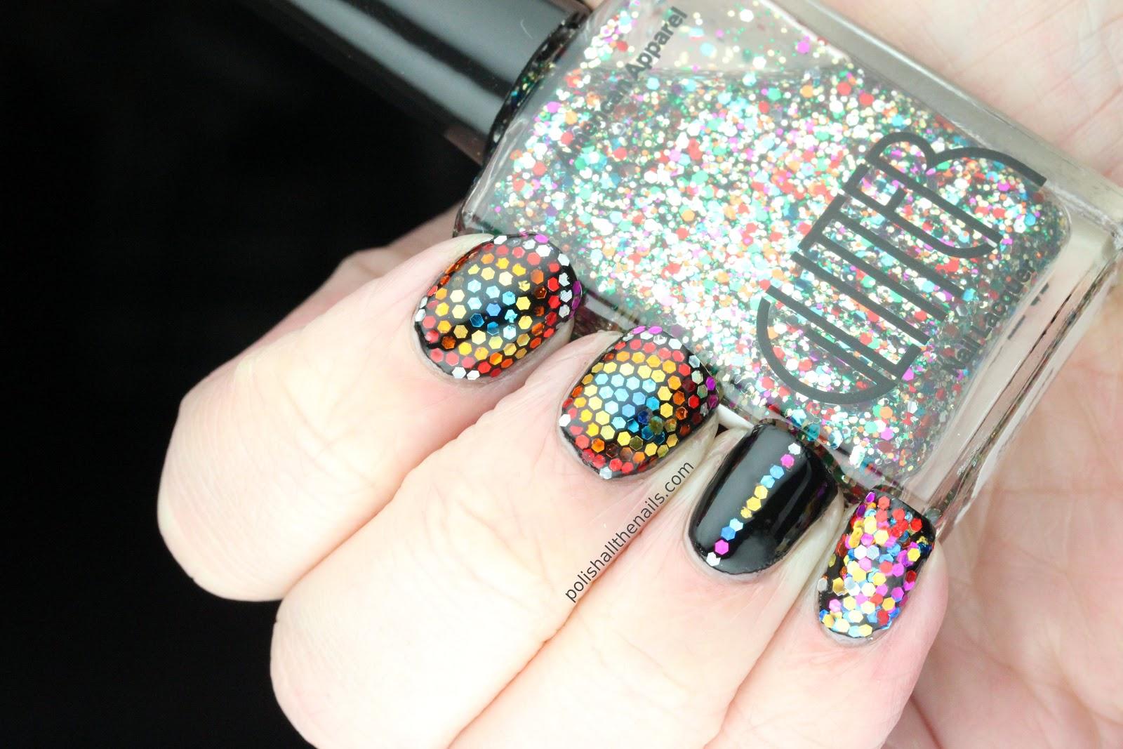 Nail Art: New Year\'s Eve Nails!