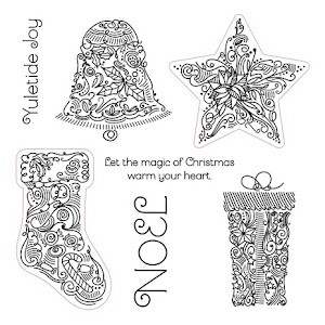 Stamp of the Month - Yuletide Joy